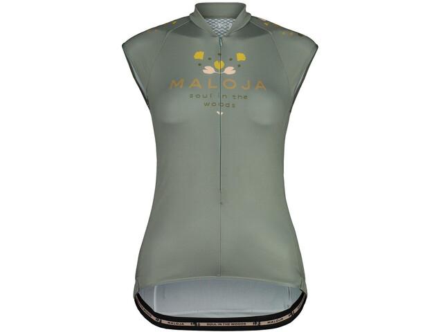 Maloja RubinieM. Top Sleeveless Bike Jersey Women, verde